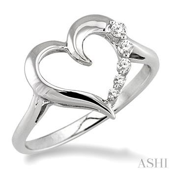 JOURNEY HEART DIAMOND RING