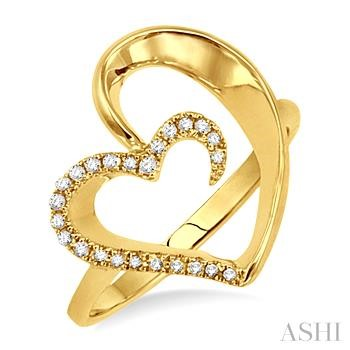 Heart Shape Diamond Ring
