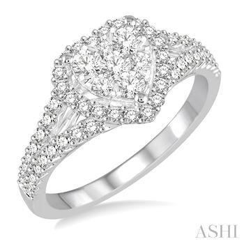 HEART SHAPE LOVEBRIGHT DIAMOND RING