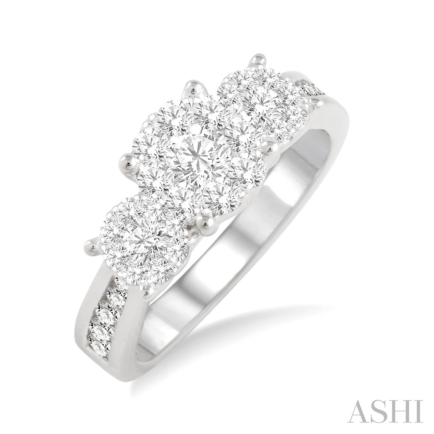 PAST PRESENT & FUTURE LOVEBRIGHT DIAMOND RING