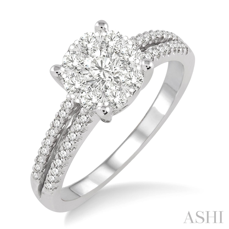 LOVEBRIGHT DIAMOND ENGAGEMENT RING