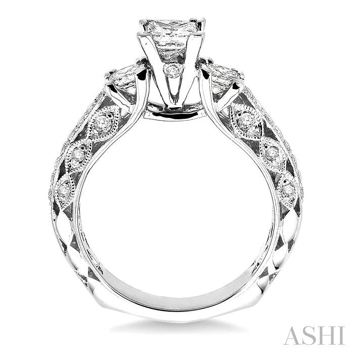 Semi-Mount Diamond Ring