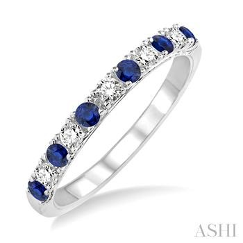 Diamond & Gemstone Stackable Band