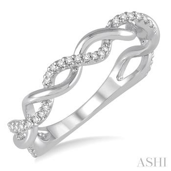 DIAMOND TWISTED RING