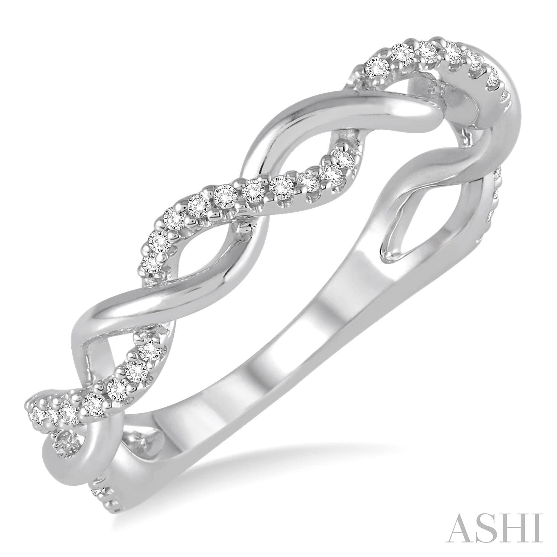 DIAMOND TWISTED RING