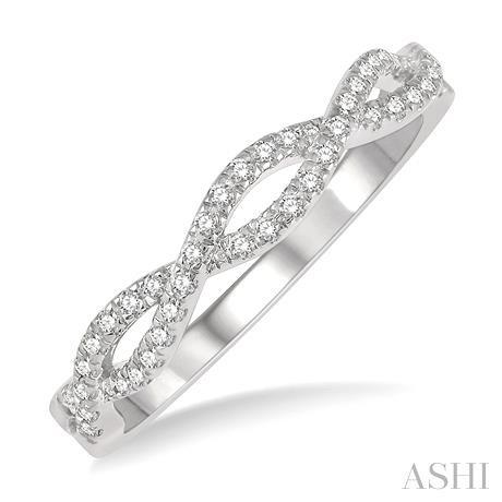 DIAMOND SWIRL FASHION RING