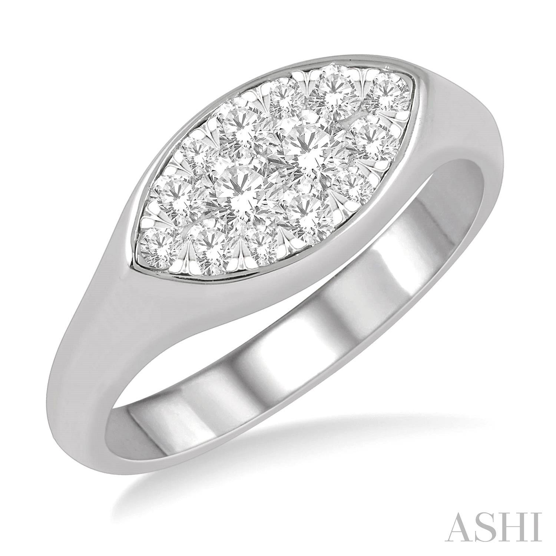 MARQUISE SHAPE LOVEBRIGHT ESSENTIAL DIAMOND RING