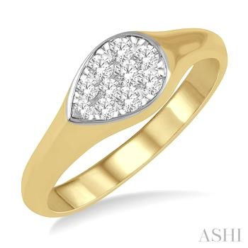 PEAR SHAPE LOVEBRIGHT ESSENTIAL DIAMOND PROMISE RING