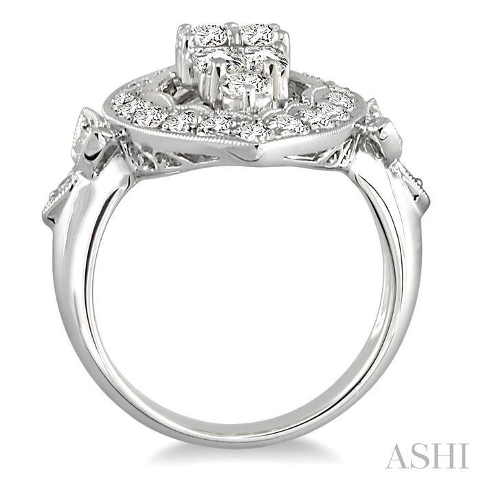 Marquise Shape Diamond Ring