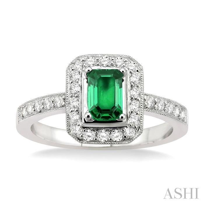 Gemstone & Diamond Ring
