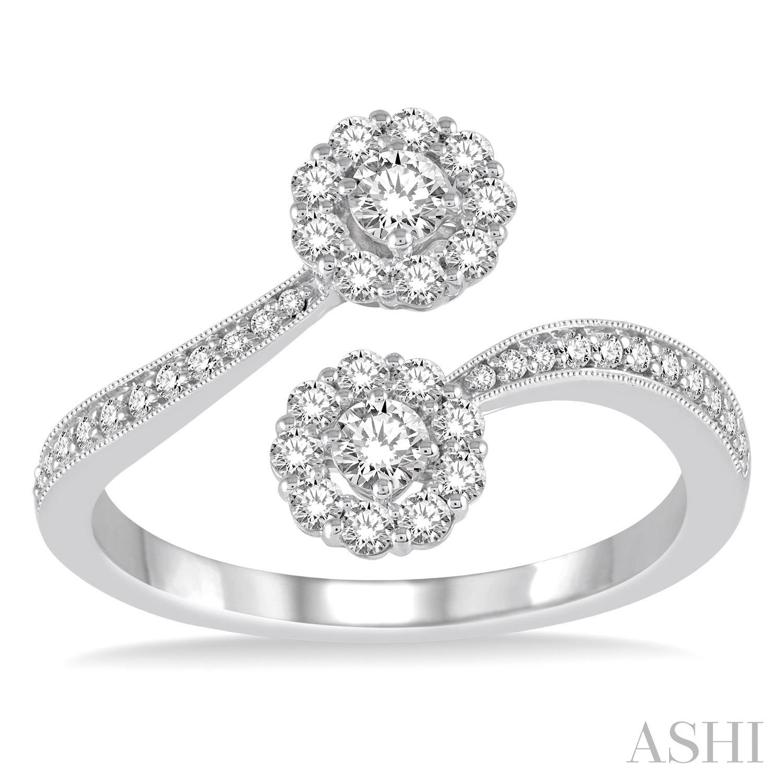 2STONE DIAMOND RING