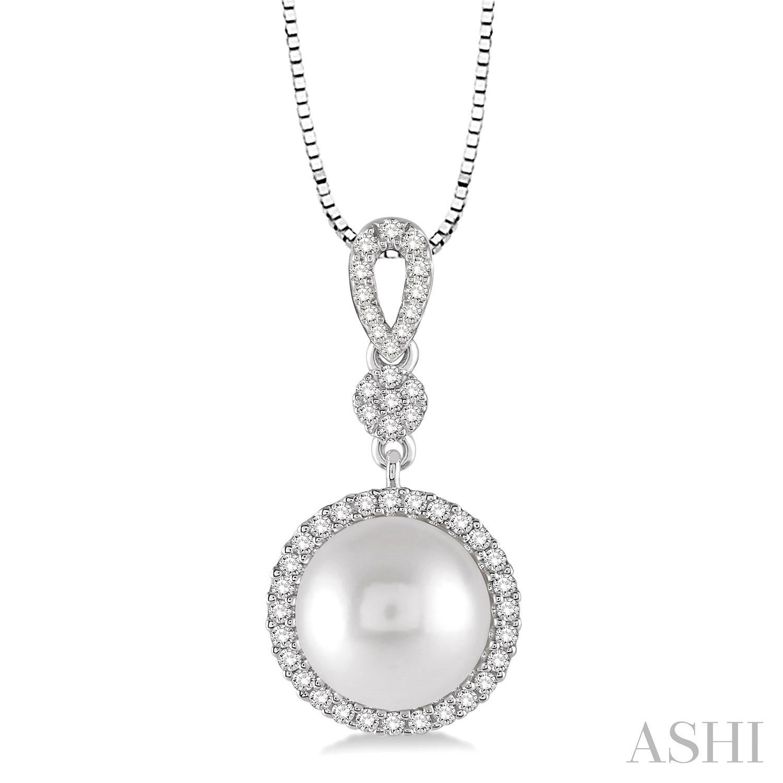 Gemstone & Diamond Pendant