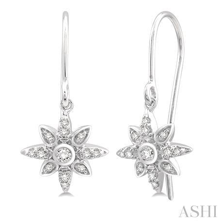 Sunburst Diamond Earrings