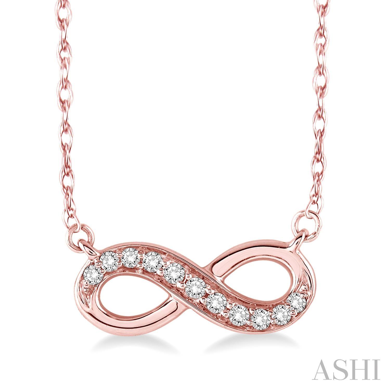 Infinity Diamond Pendant