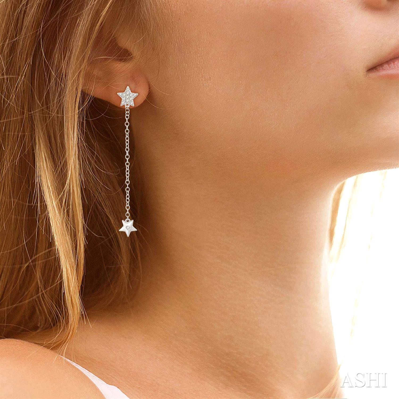 DIAMOND LONGSTAR FASHION EARRINGS