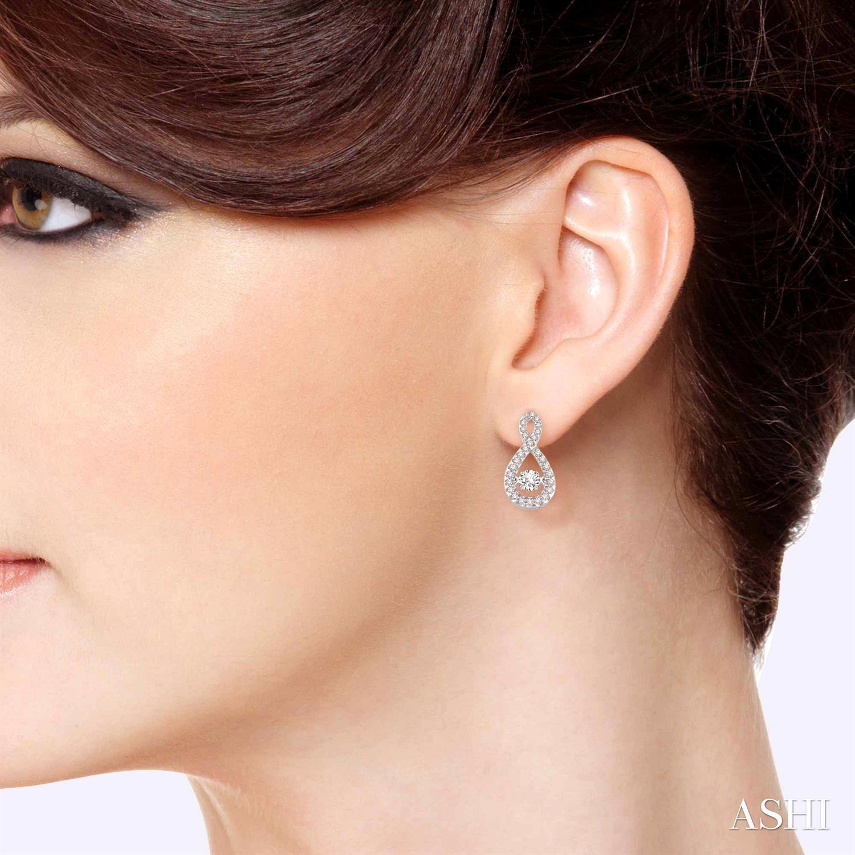 Infinity Emotion Diamond Earrings