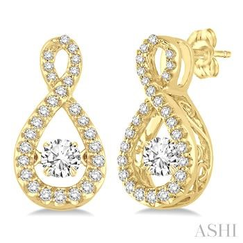 Infinity Emotion Diamond Earrings