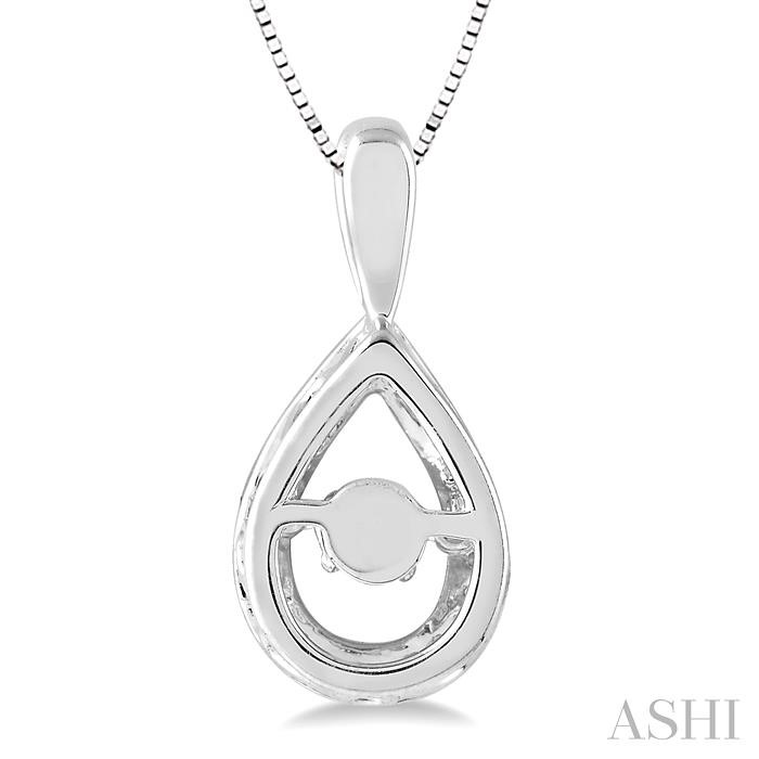 Pear Shape Emotion Diamond Pendant