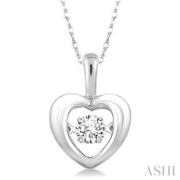 EMOTION DIAMOND HEART PENDANT