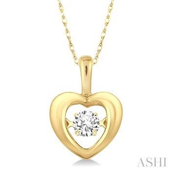 Emotion Diamond Heart Shape Pendant