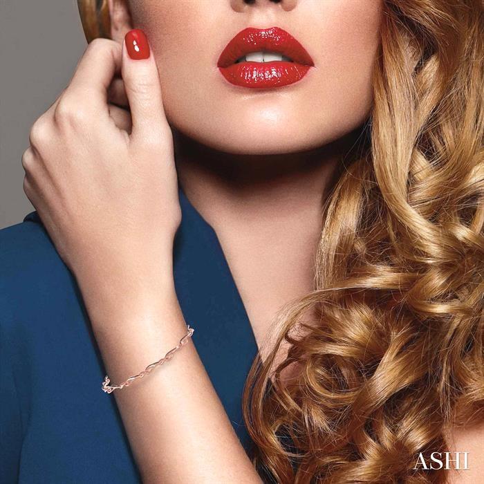 Infinity Champagne Diamond Bracelet