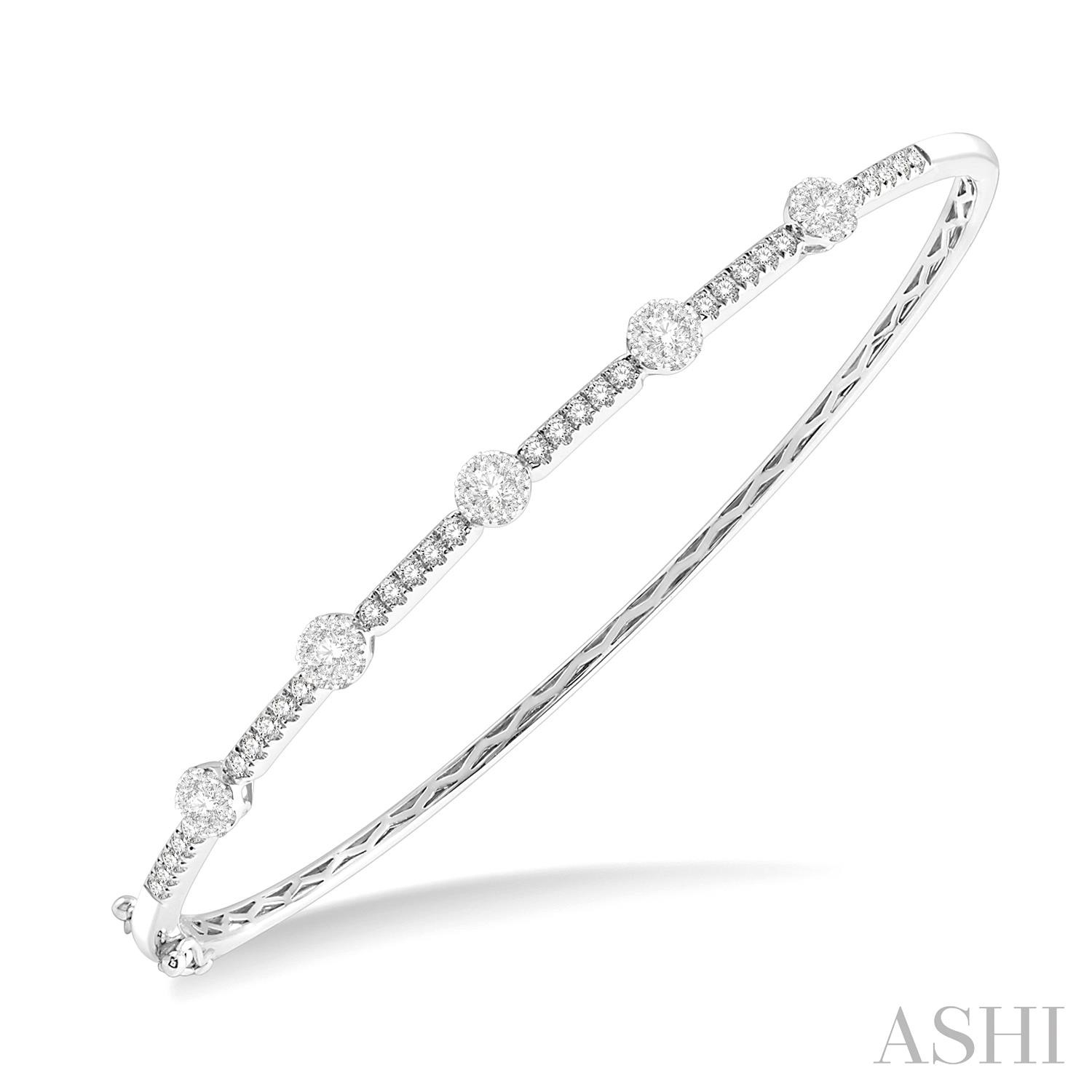 LOVEBRIGHT DIAMOND BANGLE