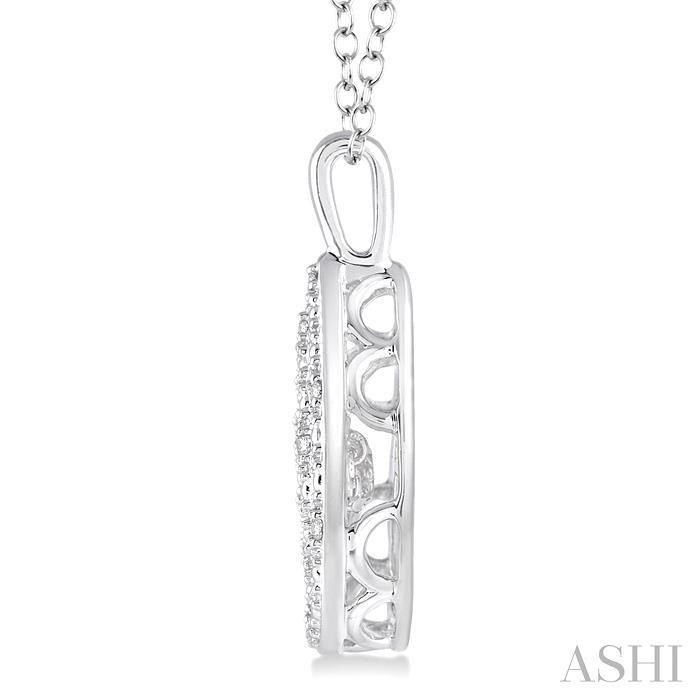 Silver Emotion Diamond Pendant