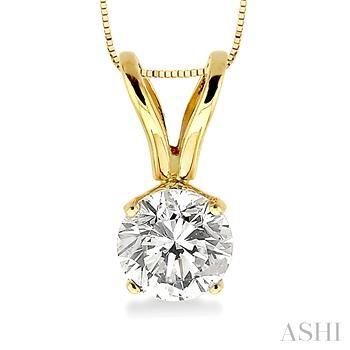 SOLITAIRE DIAMOND PENDANT