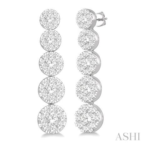 LOVEBRIGHT JOURNEY DIAMOND EARRINGS