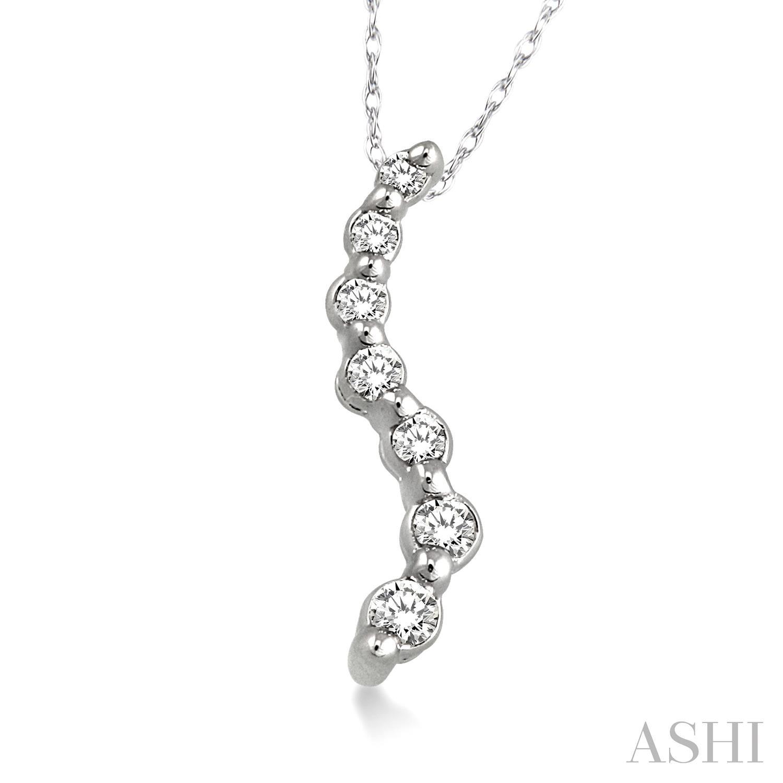 Journey Diamond Pendant