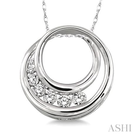 Circle Journey Diamond Pendant