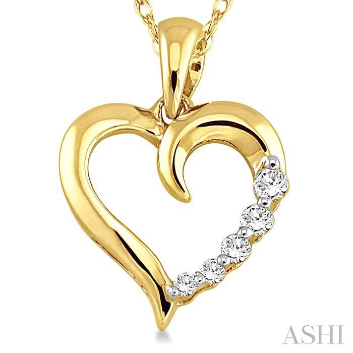 JOURNEY HEART SHAPE DIAMOND PENDANT