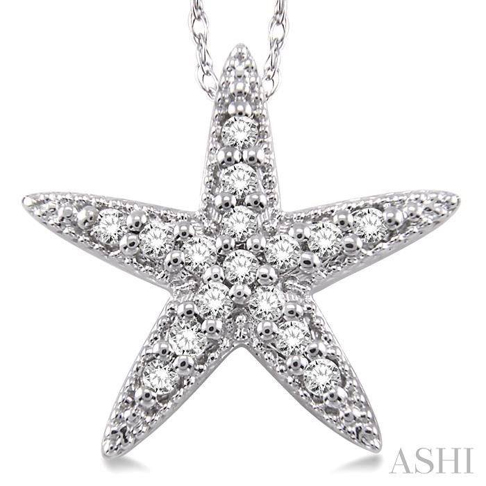 SEA STAR DIAMOND PENDANT