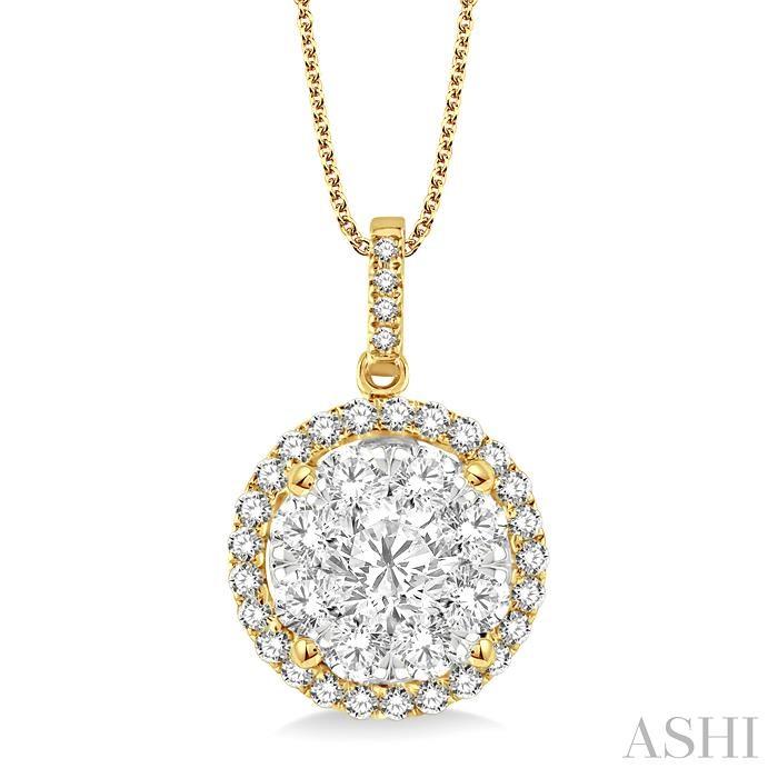LOVEBRIGHT ESSENTIAL DIAMOND PENDANT