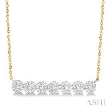 LOVEBRIGHT DIAMOND BAR NECKLACE