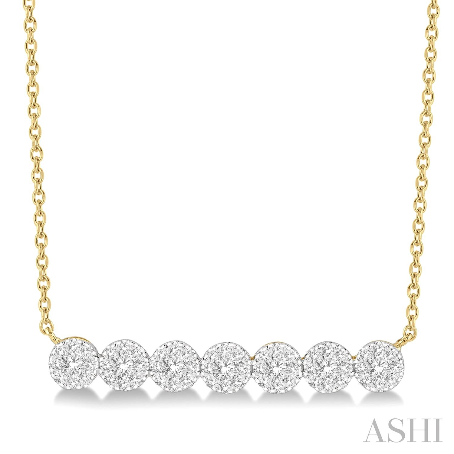 LOVEBRIGHT DIAMOND BAR NECKLACE