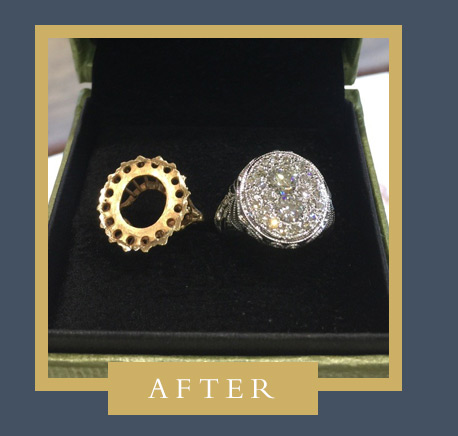 Custom Ring Redesign After Photo