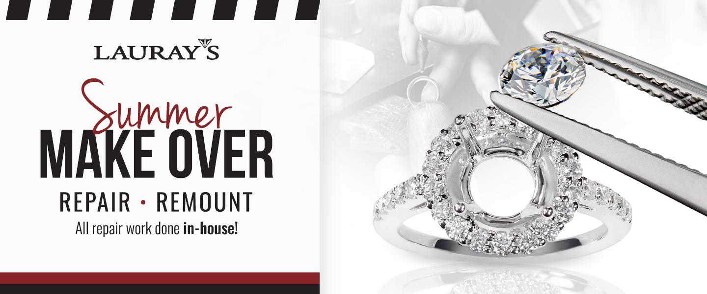 Lauray's the Diamond Center   Diamonds & Gemstone Jewelry   Hot