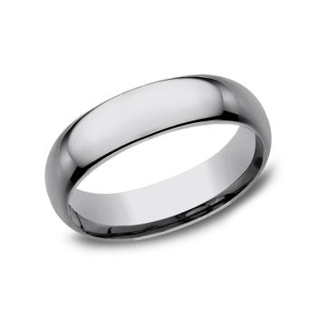 Tungsten Comfort-Fit Design Wedding Band