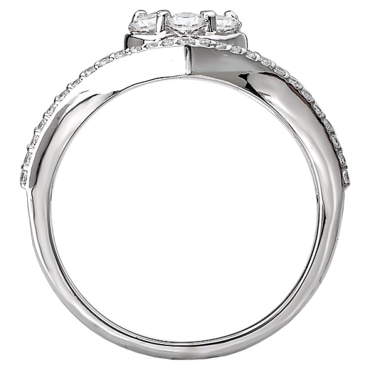 Diamond Cluster Fashion Ring
