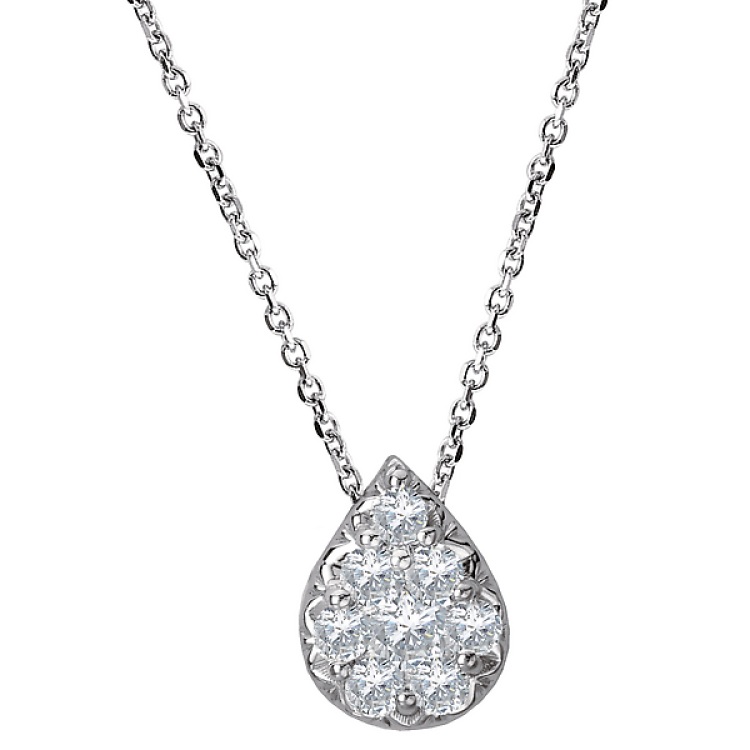 Ladies Fashion Diamond Pendant