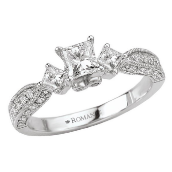 3-Stone Complete Diamond Ring