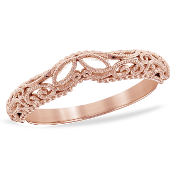 14Kt Gold Ladies Wrap/Guard
