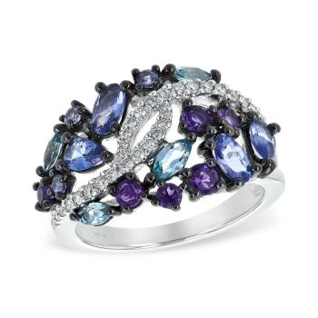 14Kt Gold Ladies Diamond Ring
