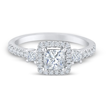 0.37CT, 14k Diamond Engagement Ring