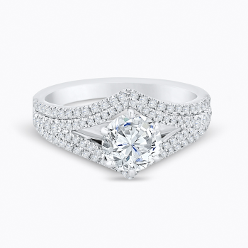 0.40CT, 14k Diamond Engagement Ring