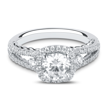 0.42CT, 14k Diamond Engagement Ring