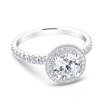 0.52CT, 14k Diamond Engagement Ring