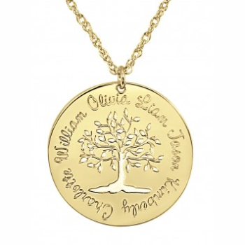 Tree of Life Family Pendant