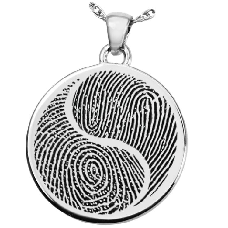 Fingerprint YingYang Jewelry